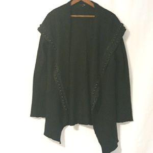 RYU anthropologie wool jacket L